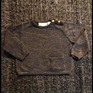 Zara sweater size 3-6m